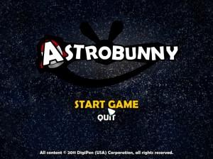 太空兔遊戲選單畫面